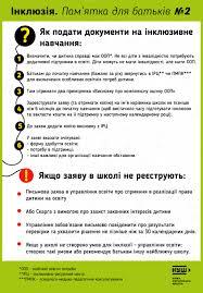"""Ліцей """"Лідер"""" м. Ужгород — Інклюзивна освіта"""