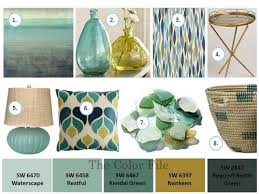 sea glass color palette the color