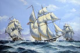 belle poule ship sailing
