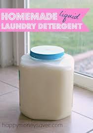 diy recipe for liquid laundry detergent