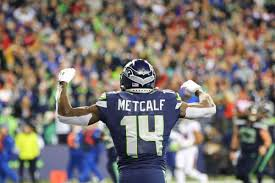 A young version of T.O.': Seahawks WR D.K. Metcalf quickly ascending to  star status in NFL - ExpressNews.com