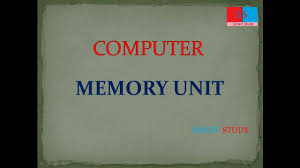 UPPCL|| COMPUTER- memory unit, by smart study - YouTube
