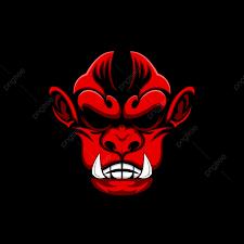 الشيطان القرد تي شيرت تصميم التصميم خط مفزوع Png والمتجهات للتحميل مجانا