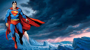 superman cartoon wallpapers wallpaper