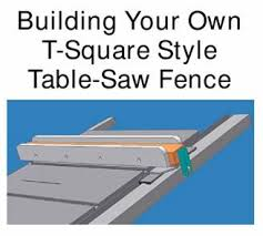 Building Your Own T Square Style Table Saw Fence Http Www Twistedknotwoodshop Com Jpg 20files Tsquare P01 Jp Diy Table Saw Fence Table Saw Fence Table Saw