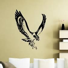 Seahawk Wall Sticker Sea Hawk Fish Eagle Osprey Bird Animals Vinyl Decal Home Kids Room Nursery Interior Art Decor Wish