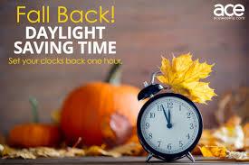 Fall Daylight Saving Time 2019 ...