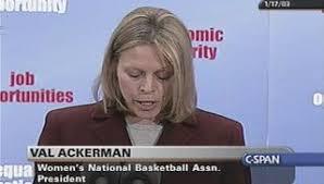 Val Ackerman | C-SPAN.org