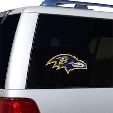 Baltimore Ravens Decals Baltimore Ravens Window Decals Baltimore Ravens Glass Tatz Nfl Logo Cutz Side Windshield Graphic Decals