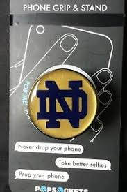 Notre Dame Classic Pop Socket Custom Decal Button Only Generation 1 Ebay