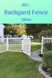 Backyard Fence Ideas Iohomedecor Com