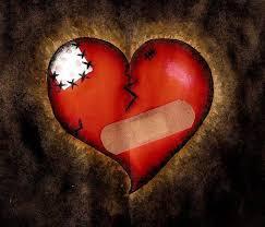 broken hearts bandaids wallpapers hd