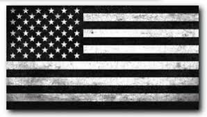 Black And White American Flag Decal Car Truck Sticker Window Bumper Vinyl Auto Ebay
