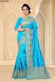 lady ethnic zoya return silk sarees