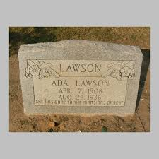 Ada Lawson (1908-1936) - Find A Grave Memorial
