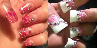 15 simple yet elegant pink acrylic nail