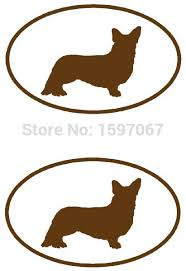 Automotive Decals Magnets Stickers Corgi Dog Stickers Window Truck Car Vinyl Bumper Sticker Decal 5