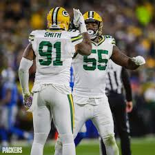 """Green Bay Packers on Instagram: """"Preston Smith (7) & Za'Darius Smith (6)  are the first #Packers tandem to both… 