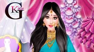 indian bridal makeup and dressup games