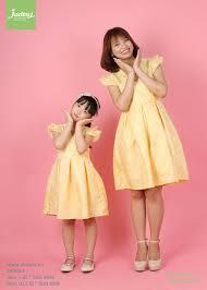 Xu hướng diện váy đôi mẹ và bé gái - JADINY thời trang