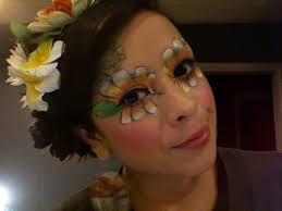 flower makeup look how to create a
