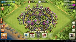 Base at Town Hall 8 in CoC ...