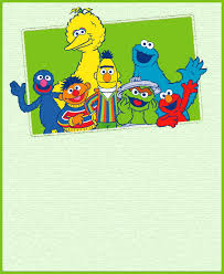Printable Sesame Street Party Invitation Card Invitations Online