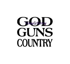 God Guns Country Car Decal Vinyl Car Decals Window Decal Etsy