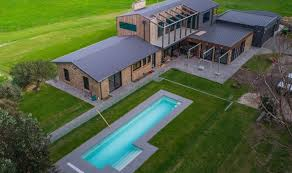 pool installation and backyard design