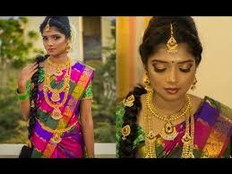 south indian bridal makeup look 2017