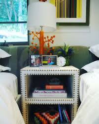 Kids Bedroom With Cool Orange Lamp Trending Decor Los Angeles Interior Design Bedroom Design