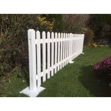 White Events Fencing Free Standing