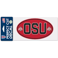 Ohio State Car Decals Ohio State Buckeyes Bumper Stickers Decals Fanatics