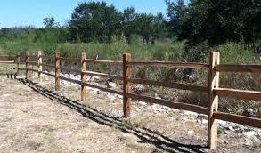 Cedar Split Rail Fence Pictures Cedar Fencing Austin Tx Sierra Fence Inc