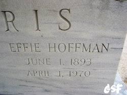 Effie Elizabeth Hoffman Harris (1893-1970) - Find A Grave Memorial