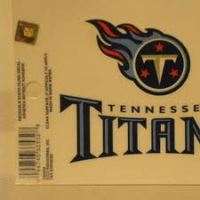 Shop Tennessee Titans Logo Static Cling Sticker Window Or Car Overstock 23509331