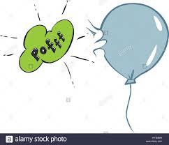 Balloon Blow Vector Illustration Stockfotos und -bilder Kaufen - Alamy