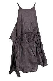 rundholz dip amethyst sleeveless dress