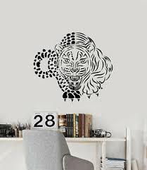 Vinyl Wall Decal Jaguar Panther Jungle Hunter Big Cat Animal Stickers G3131 Ebay
