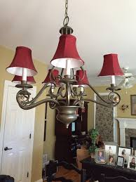 chandelier shades yes or no