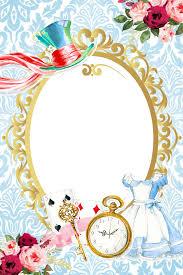 Alice In Wonderland Quotes Convite Vintage Alice N En 2020 Con
