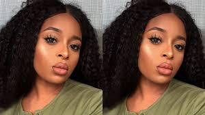 neutral makeup tutorial for brown skin