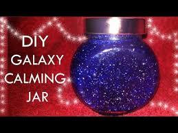 diy galaxy calming jar without glue