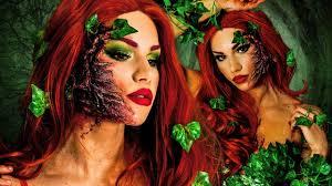 poison ivy halloween makeup tutorial