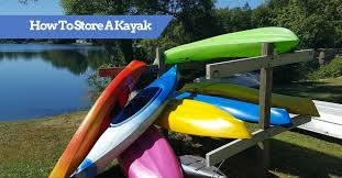 How To Store A Kayak Outside Inside Ideas On Hang Racks Covers