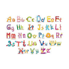 Shop Tsondianz Alphabet A Z Letters Vinyl Wall Sticker Decal Mural Kids Room Removable Wall Decals Nursery Decal Online From Best Wall Stickers Murals On Jd Com Global Site Joybuy Com