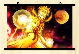 Buy Cartoon world NARUTO Shippuden: Naruto Uzumaki Home Decor Anime Japanese  Poster Wall Scroll in Cheap Price on Alibaba.com