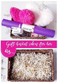 diy gift basket for valentine s day for