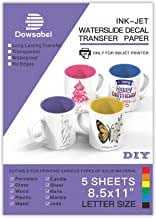 Amazon Com Ceramic Decal Paper