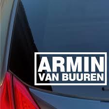 Armin Van Buuren Vinyl Sticker Decal House Trance Dj Night Club House Edm Edc 15cm Stickers Aliexpress